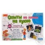 Гра Досліди по хімії на кухні Ranok Creative 0330