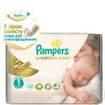 Подгузники детские Pampers Premium Care Newborn (2-5 кг) 33шт