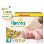 Пiдгузники дитячі Pampers Premium Care Junior 11-25 кг Мега 88шт