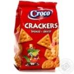 Крекер зі смаком сиру Croco 100г