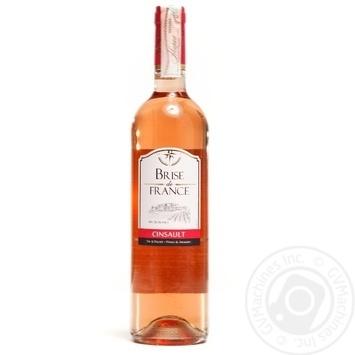 Вино Brise de France Cinsault рожеве сухе 12% 0,75л