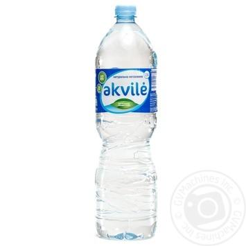 Вода натуральна мінеральна негазована Akvile пет 1,5л