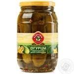 Vegetables cucumber Kedainiu Private import pickled 1500ml glass jar Lithuania