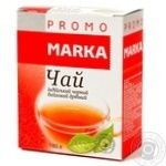 Чай індійський чорний байховий дрібнолистовий Marka Promo 180г