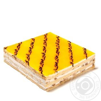 Пирог сметанный с бананом