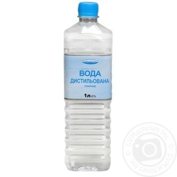 Вода Регион дистиллированная техническая 1л - купить, цены на МегаМаркет - фото 1