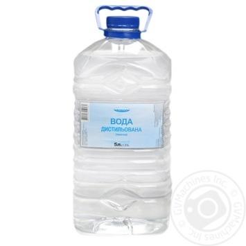 Вода Регіон дистильована технічна 5л - купити, ціни на МегаМаркет - фото 1