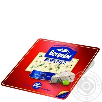 Bergader Edelpilz Cheese With Blue Mildew