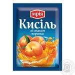 Кисель Мрия персиковый 90г