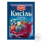 Кисель Мрия лесная ягода 90г