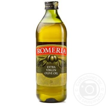 Олія оливкова нерафінована першого холодного віджиму Romeria 1л