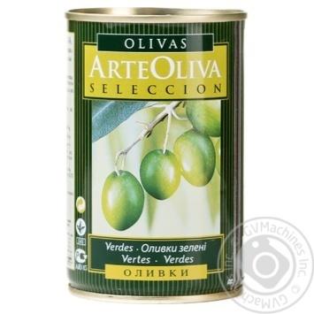 Оливки Arte Oliva з/к 300г