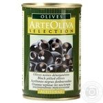 Arte Oliva Pitted Black Olives 300g