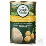 olive Feudo verde Private import lemon canned 300g