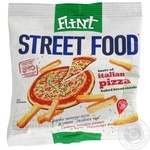 Сухарики пшенично-житні зі смаком Італійська піца Флінт 35г