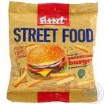 Сухарики пшенично-житні зі смаком Американський бургер Флінт 35г