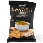 Сухарики-гренки Snekkin Lavash пшеничные со вкусом французского соуса с зернами горчицы 70г