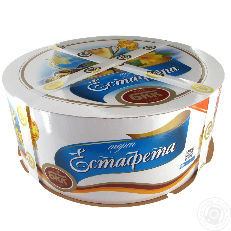 Торт БКК Эстафета 1кг → Сладости → Пирожные и торты → FOZZY ... a5d7b914dd0