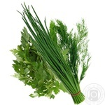 Greens parsley Marka promo packed 90g