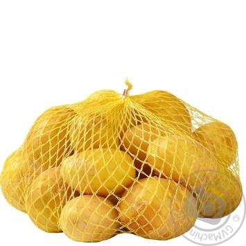 Картопля молода фасована пол.пакет ваг