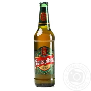 Пиво Staropilsen Lager 4,7% 0,5л - купить, цены на Novus - фото 1
