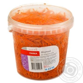 Salad Marka promo carrot korean 900g - buy, prices for Novus - image 1