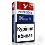 Цигарки President Classic Stars 100's Edition