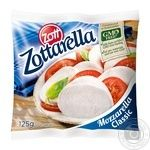 Cheese mozzarella Zott pickled 45% 125g