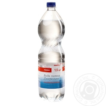 Marka Promo Dzherel'na Highly Carbonated Water 1,5l - buy, prices for Novus - photo 1