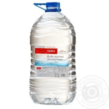 Вода питна Джерельна негазована Marka Promo 6л - купить, цены на Novus - фото 1