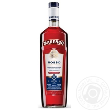 Marengo Rosso dessert pink sweet vermouth 16% 1l - buy, prices for Furshet - image 1
