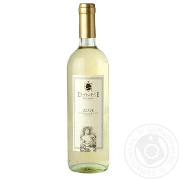 Вино Danese Soave DOC белое сухое 11,5% 0,75л