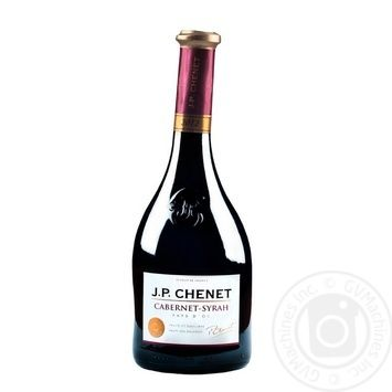 Вино J.P. CHENET Cabernet-Syrah червоне сухе 0.75л - купити, ціни на Метро - фото 1