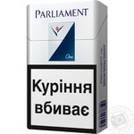 Сигареты Parliament One