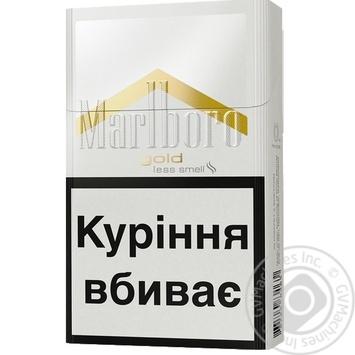 cigarettes marlboro gold � tobacco goods � cigarettes