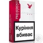 Цигарки President Premium Red