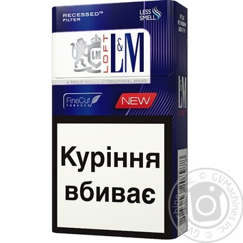 Cigarettes L&M Loft Night Blue
