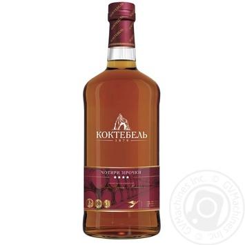 Koktebel Cognac 4 staras 40% 0,5l