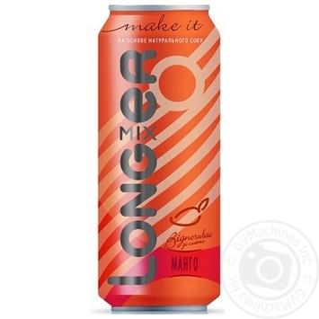 Напиток слабоалкогольный Лонгмиксер Манго 7% 500мл железная банка Украина