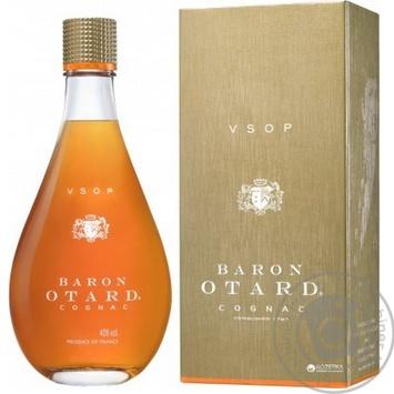 Коньяк Барон Отард VSOP 40% в коробке 500мл - купить, цены на Novus - фото 5