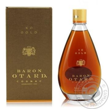 Baron Otard XO Gold сognac 40% 700ml