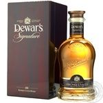 Whiskey Dewars 40% 750ml in a box