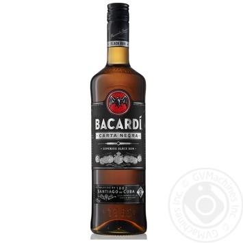 Ром Бакарди Карта Негра 40% 1л