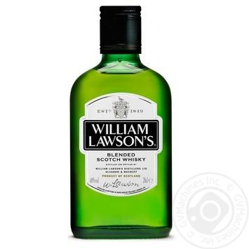 Віскі William Lawson's 40% 0,2л - купити, ціни на CітіМаркет - фото 1