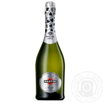 Sparkling wine Martini Asti sparkling 7% 1500ml glass bottle Italy