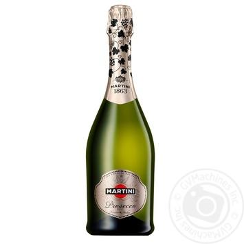Игристое вино Martini Prosecco 11,5% 0,75л - купить, цены на Novus - фото 2