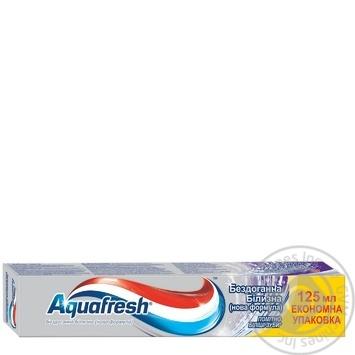Зубна паста Aquafresh Бездоганне відбілювання з антибактеріальною формулою 125мл - купити, ціни на Восторг - фото 1