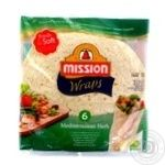 Tortilia Mission with herbs 370g Belgium