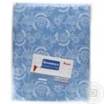 Простыня Ашан голубая 210x150см