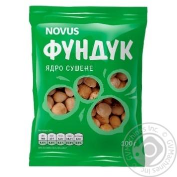 Фундук сушений Novus  100г - купити, ціни на Novus - фото 4